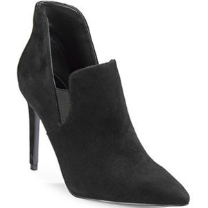 NWT Kendall + Kylie Amber Amber Suede Dress Boots